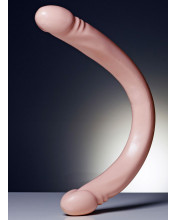 Fallo Doppio Liscio e Morbido 50 x 4 cm. Doc Johnson