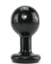 Plug Anale Rotondo Con Base - Diametro Sfera 5,5 Cm.