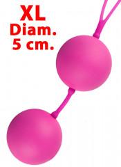 Sfere del Piacere XXL Vaginali e Anali 5 cm. Diametro