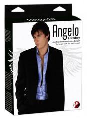 "Bambolo Gonfiabile ""Angelo"" Con Fallo Realistico"