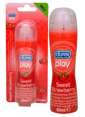 "Gel Lubrificante Intimo Durex ""Play Strawberry"" - 50 Ml"