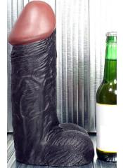 MONSTER DILDO Fallo Gigante Negro 29 x 8 cm.