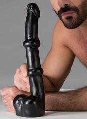DARK CRYSTAL Tim Dildo BLACK 37 X 5,5 cm.