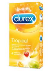 """Profilattici Durex """"Tropical"""" alla Frutta - 6 Pezzi"""