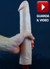 REAL FLASH Vibratore GIGANTE Realistico 28 X 5,5 cm.