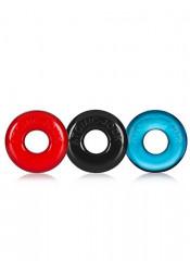 Oxballs set 3 anelli Fallici Elastici Colorati