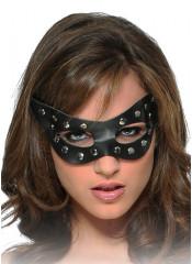 BURLESQUE Maschera IN PELLE Catwoman