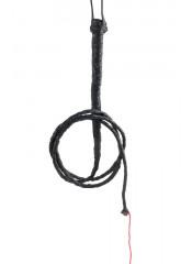 Frusta da Dominatore / Dominatrice in Vera Pelle di 180 cm.