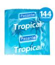 PASANTE - Profilattici con Serbatoio alla Frutta Tropicale 144 pezzi