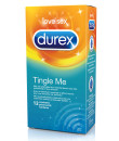 Profilattici Durex TINGLE ME - Sensazione di Freschezza - 12 Pezzi