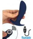 Stimolatore Prostata da Passeggio Vibrante Telecomandato Ricaricabile USB 12 x 3 cm.