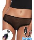 Ijoy - Mutandine Vibranti Ricaricabili USB con Telecomando - Taglia Unica Elasticizzata