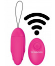 Ovetto Vibrante Telecomandato Elys Ripple Egg Remote Control Pink 9 x 3,7 cm.
