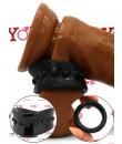 Stay Hard beef ball stretcher nero 3,8 x 2,5 cm.
