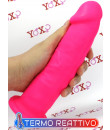 Fallo realistico Dual Density Termo Reattivo rosa fluo 22 x 5,4 cm.