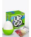 Ovetto masturbatore maschile in silicone - Up&Go Bumpy Egg