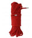 Corda Rossa con Finitura in Seta per Bondage BDSM e Shibari 10 MT
