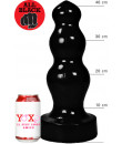ALL BLACK Cuneo Anale Progressivo Gigante COLOSSAL 40 X 11,5 cm.