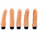 Kit di 5 Vibratori Realistici Flessibili