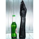 ALL BLACK Mano e Braccio per Fisting 39 X 7 cm.