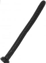 Dixon - Gut Snake Dildo Flessibile a Spirale 50,5 x 3,5 cm. Nero