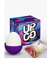 Ovetto masturbatore maschile in silicone - Up&Go Spidey Egg