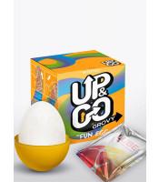 Ovetto masturbatore maschile in silicone - Up&Go Grovy Egg