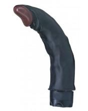 Vibratore Nero Curvo per il Punto G 19 X 4 cm.