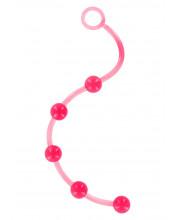 SEVEN CREATIONS - Catena anale rosa 38 cm.con 5 Sfere Diam. 2 cm