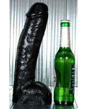 Omaggio ALL BLACK Fallo GIGANTE Realistico 29 X 6,5 cm.