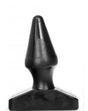 Cuneo anale gigante All Black 16 x 6,1 cm.