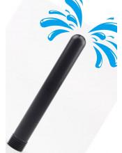 Soffione per Lavaggio Anale con 7 Fori Attacco Universale 15 x 1,9 cm. Nero