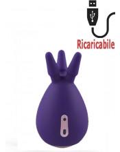 Polipetto Stimolatore Clitoride Ricaricabile Tramite USB 9 x 5 cm.