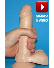THE REAL ONE Fallo Realistico in Fleshy Feeling® 18 X 4 cm. Prodotto in EUROPA