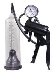 Sviluppatore Pene A Pompa Professionale Con Manometro 21 X 5,3 Cm.