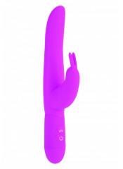 POSH Bounding Bunny Vibratore in Silicone Rosa 11 x 3,5 cm.