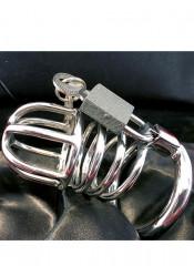 Cintura di Castitá Maschile Cage in Acciaio