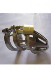 Cintura di Castitá Maschile Bon4 Stainless Steel Formato Small Medium