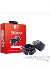 MOI - Chain Me Wrist - Costrittori in Robusta Ecopelle Regolabili
