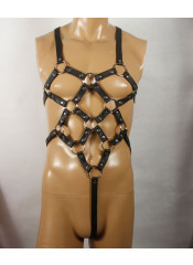 MOI - Dare Devil - Imbracatura BDSM Harness Regolabile per Donna