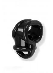 Oxballs Ball Sling con Separatore Testicoli in Tech TPR - Nero