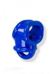Oxballs Ball Sling con Separatore Testicoli in Tech TPR - Blu
