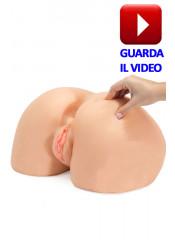 Perfect Ass Ano Perfetto a Pecorina con Vibrazione - Dimensione Realistica in Cyberskin®