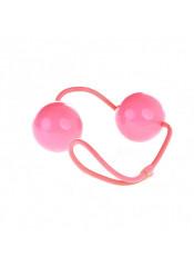 Sfere Vaginali o Anali Vibranti (laccetto in gomma) Diam. 3 cm. Rosa