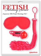 BDSM BONDAGE SOFT Kit di Frusta Maschera e GAG