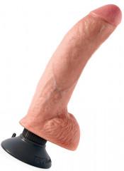 KING COCK - Vibratore Ultra Realistico 25 X 5,1 cm. - Alta Qualita MADE in USA