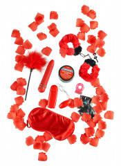 Kit ROSSO PASSIONE FANTASIES 7 Sex Toys Diversi