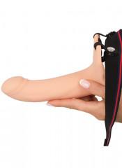 Strap On Cavo con Anello per Testicoli Aggiunge 6 cm al tuo Pene