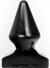 Cuneo anale gigante All Black 23 x 11,5 cm.