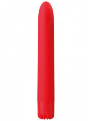 Vibratore Classico Rosso 18 X 2,5 cm.